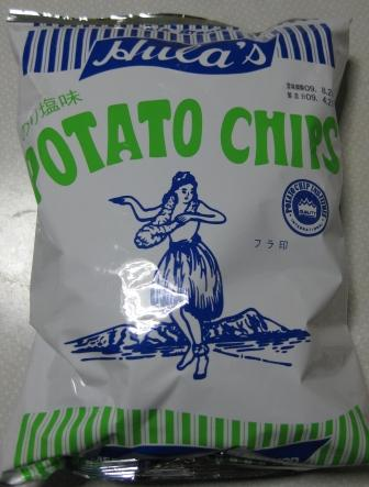 フラ印ポテトチップス(のりしお味)