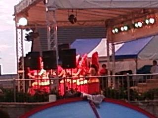 四季の里 夏祭り タヒチアンダンス
