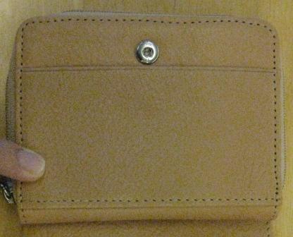 ここのカードポケットが小さい…