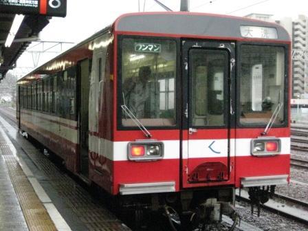 鹿島鉄道!