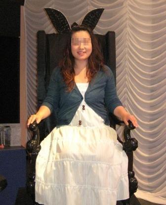 エリザベートで使われていた椅子