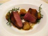 肉料理メイン「鴨のロースト」