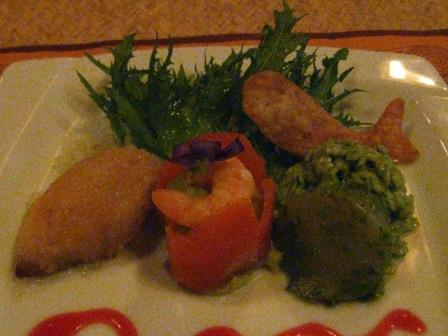 ディナー(前菜)