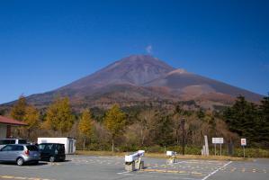 富士山スカイライン水ヶ塚駐車場