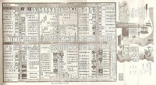 新吉原遊郭全図