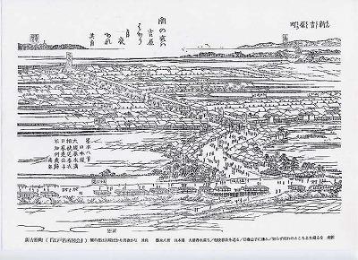 江戸名所図会「新吉原町」