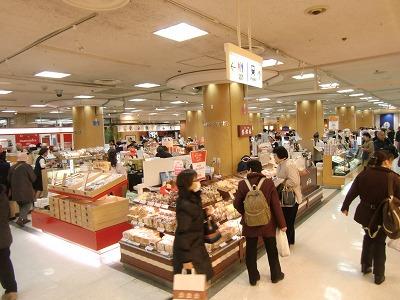 上野のデパ地下