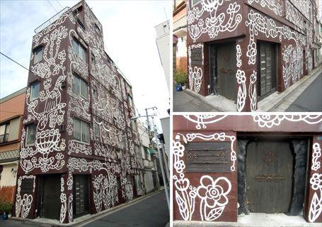 超ド派手なデザインの共同住宅