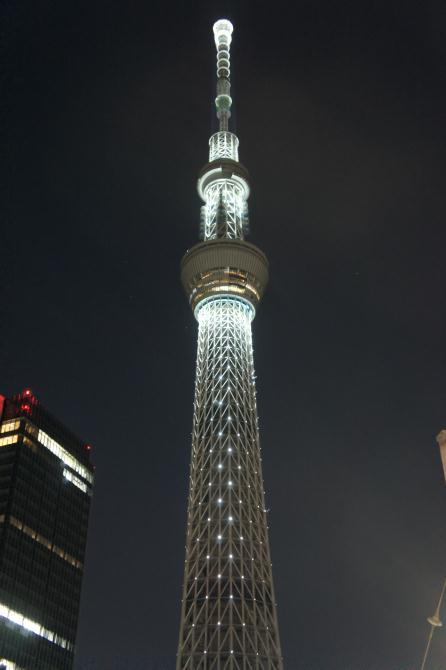 東京スカイツリー クリスマスイブ ライトアップ