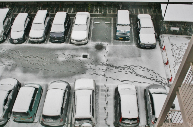 IMG_9538 雪の駐車場(640x421)
