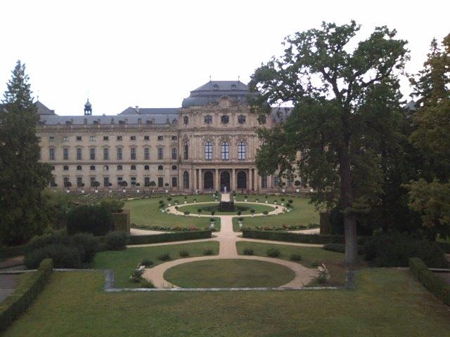 ビュルツブルグのレジデンツ(宮殿)