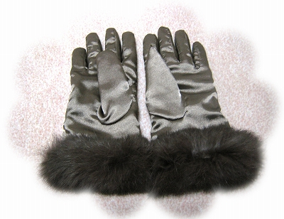 手袋のプレゼント