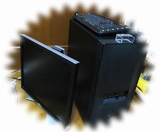 デスクトップのパソコン