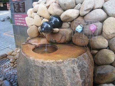 金の湯の玄関