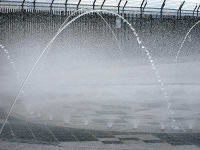 スカイパークの噴水3