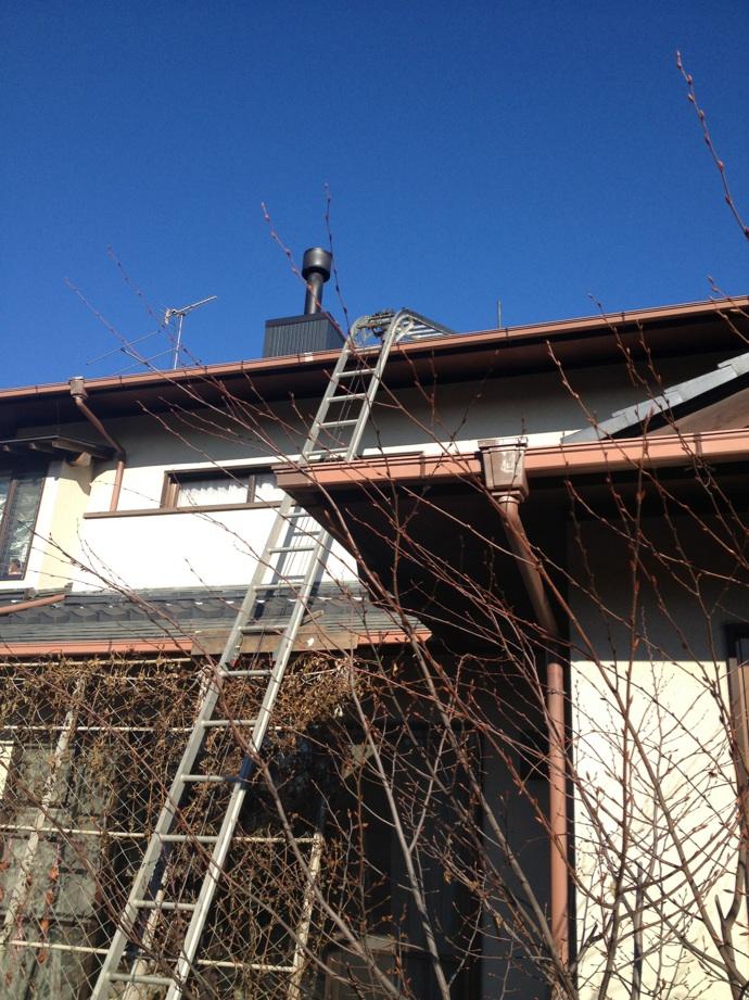 常陸太田市屋根の棟補修工事