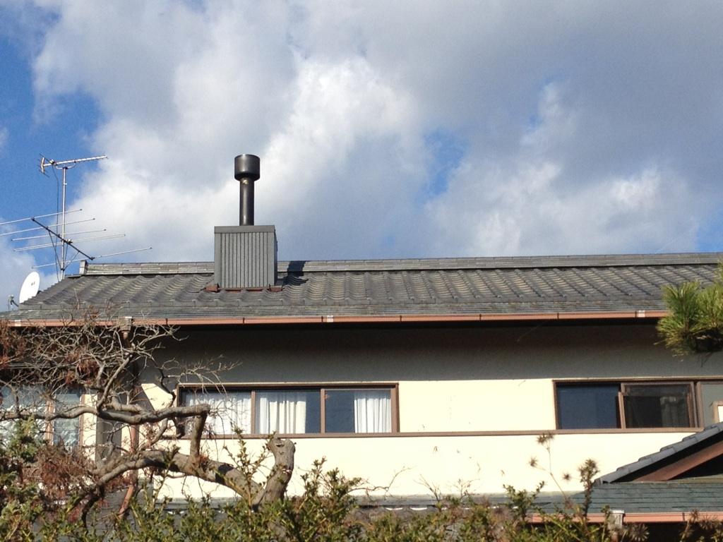 常陸太田市屋根瓦工事完了