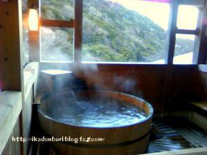 湯の山温泉:三峯園 露天風呂