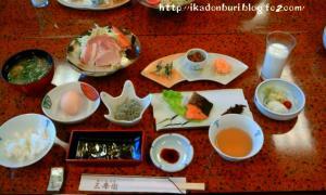 湯の山温泉:三峯園 朝食
