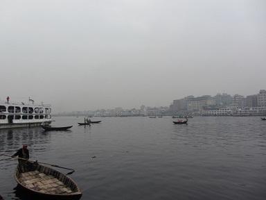 朝霧のブリコンガ河