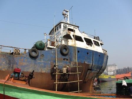 ダッカ~Ship dock yardの風景①~