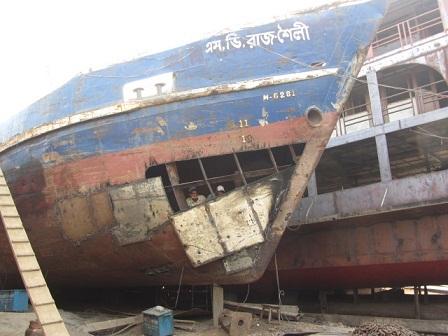 ダッカ~Ship dock yardの風景⑤~