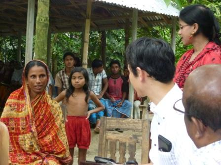 Anada Schoolの運営に携わる母親との対話