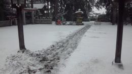 h26積雪