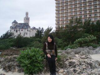 ブリーズベイホテル前海岸直美