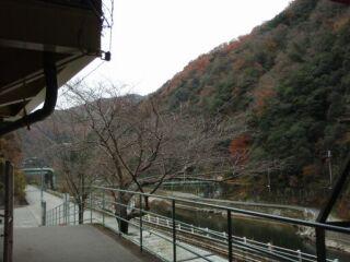 20111206廃線跡ハイク武田尾駅