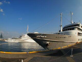 20111212ハーバーランド船3隻