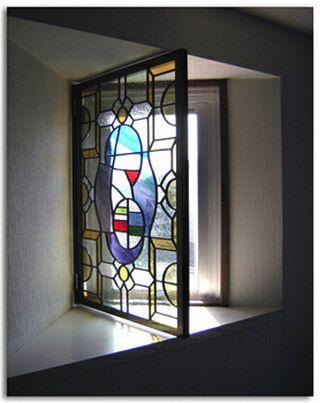 フェルメールステンドグラス窓