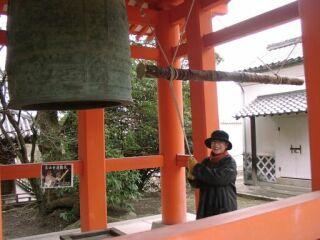 20030101大山寺直美鐘つき