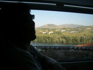 ドウロ川クルーズ レグアReguaからポルトへの電車