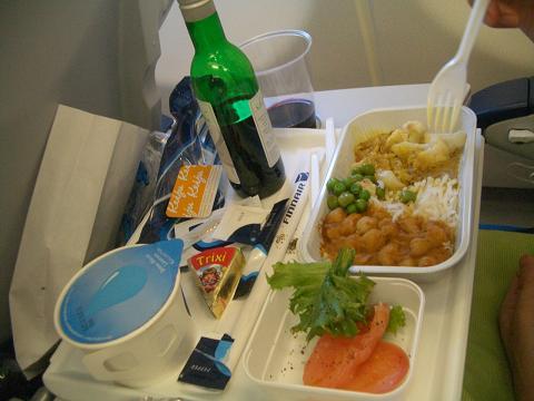 フィンランド航空機内食ヘルシンキから成田1