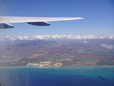 カウアイ島飛行機
