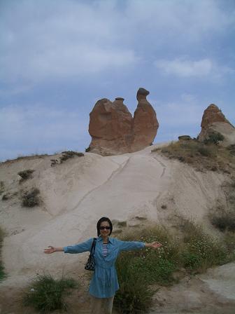 カッパドキア奇岩