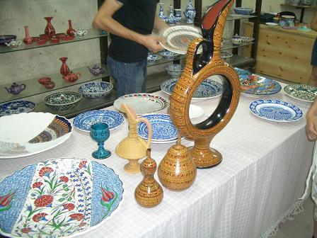 カッパドキア陶器工房