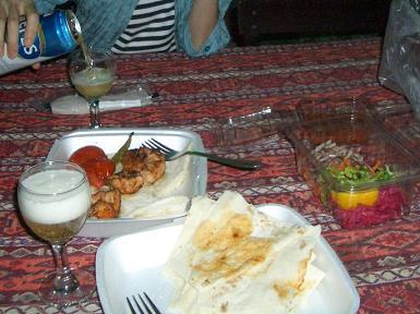カッパドキア夕食