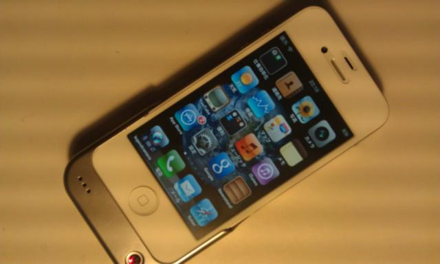 iPhone4S&充電ドック