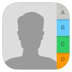 iOS7の連絡先