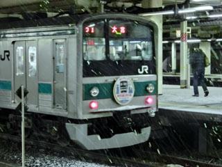 新宿駅停車中のハエ28編成②