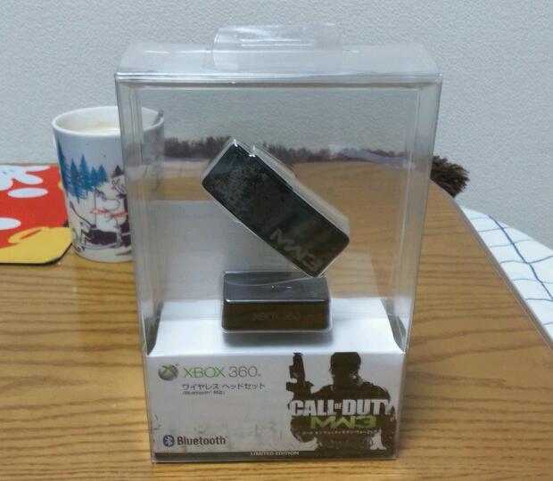 Xbox 360 ワイヤレス ヘッドセット (Bluetooth 対応)