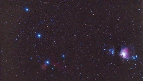 R三ツ星とオリオン1