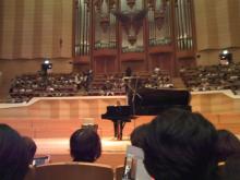 ishizaruのバイオリン マジメ*モ-サントリーホール3列目