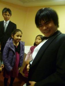 with Tsuji Nobuyuki