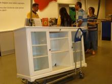 イスタンブール生活のABC-IKEAで返品した棚