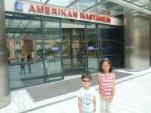 イスタンブール生活のABC-病院正面玄関