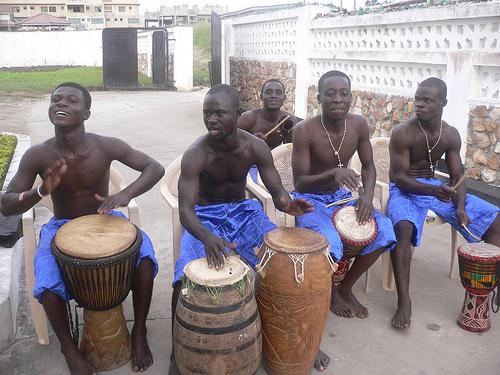 Open!なブログ -アフリカの太鼓