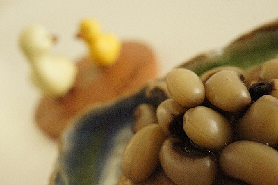 パンダ豆の甘煮